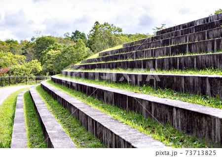 兵庫県三田市にある有馬富士公園の石段 73713825
