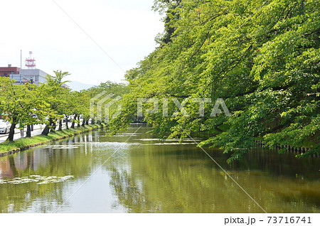 弘前城の外堀(弘前公園/青森県弘前市) 73716741