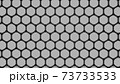 六角形のパイプのパターンからなるハニカム模様 73733533