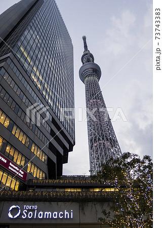 東京ソラマチビルと東京スカイツリー 73743383