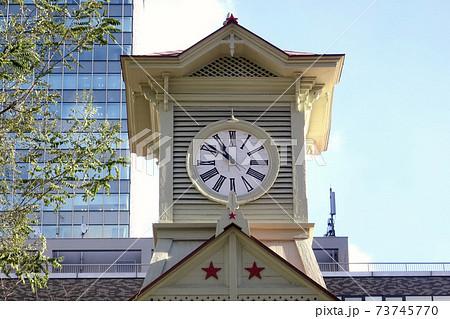 札幌市時計台の大時計 北海道札幌の観光名所 73745770