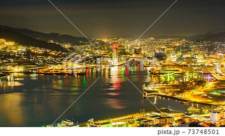 長崎の夜景(鍋冠山) 73748501