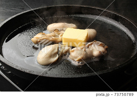 牡蠣のバター焼き 73750789