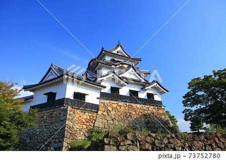 【滋賀県】彦根城天守閣と附櫓 73752780