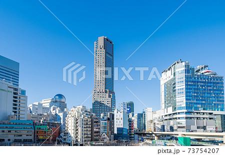 「東京都」渋谷の街並み 73754207