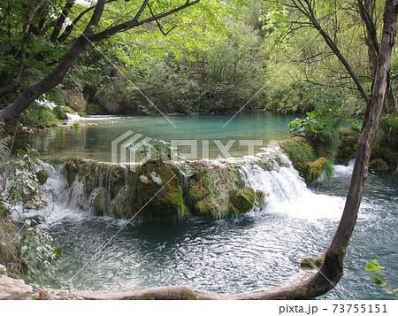 プリトヴィッツェ湖群国立公園の絶景 73755151