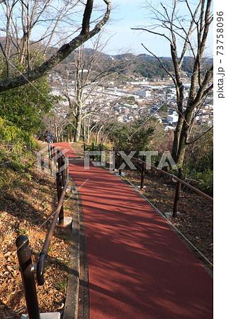 浜松 城山公園の登山道から見える引佐町 73758096