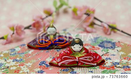 ひな祭り 雛飾り 73763660