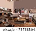 お洒落なインテリア(家具)や雑貨のショールーム 73768304