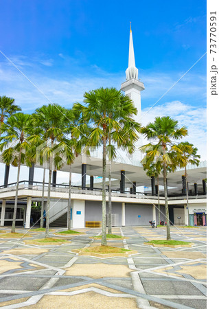 マレーシア_国立モスク 73770591