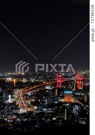 高塔山公園から見た北九州市内の夜景(新日本三大夜景) 福岡県 73796338