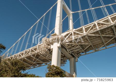 東京レインボーブリッジを真下から見れる芝浦ふ頭公園 73825963