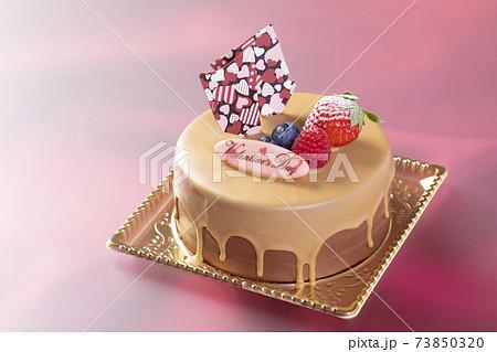 バレンタインケーキ 73850320