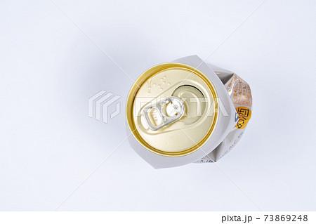 潰した空き缶1こ 73869248