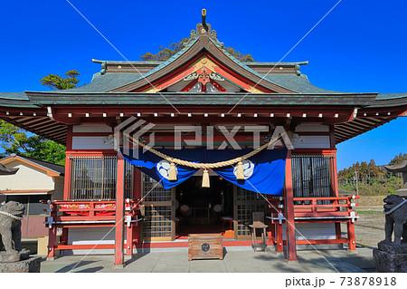 サッカーのお守りが有名! 市来神社(鹿児島県いちき串木野市湊町) 73878918