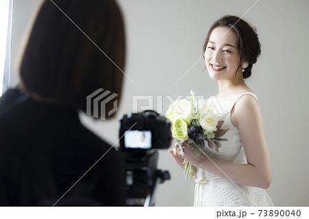 オンライン結婚式イメージ 73890040