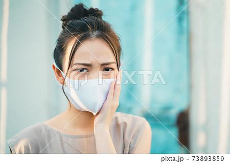 マスク皮膚炎 73893859