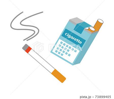 タバコのイラストイメージ 73899405