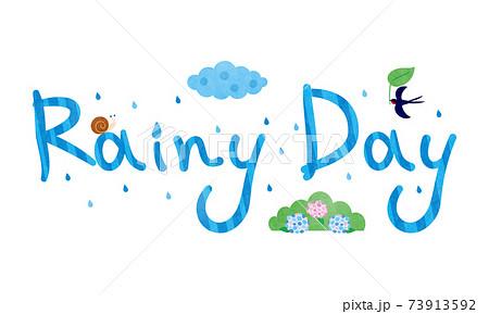 素材-rainy day1テク 73913592