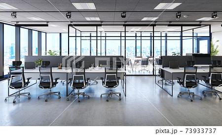 オフィス CG バーチャル背景 73933737