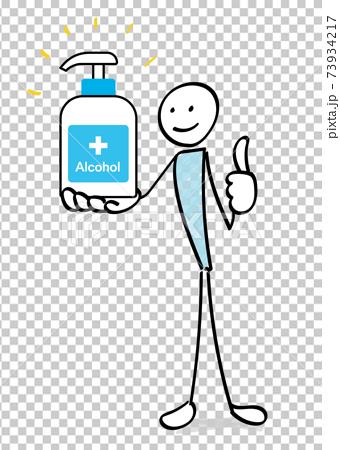 감염증 대책 인물과 알코올 소독 73934217