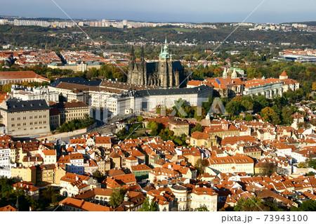 フラチャヌィの丘の頂に建つプラハ城 73943100