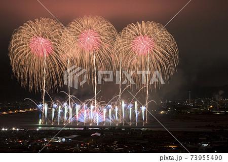 【静岡県】大井川の花火大会 73955490