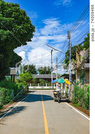 タイの田舎路地 74009466