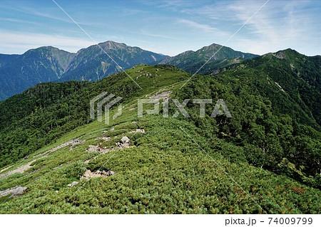 兎岳・聖岳・上河内岳・茶臼岳 74009799