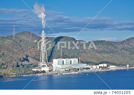【相生火力発電所】 兵庫県相生市相生柳山 74031205