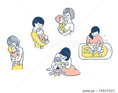 ママと赤ちゃん セット 74037921