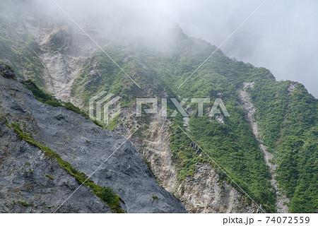 大山登山、ユートピアコースの景色(2020年8月) 74072559