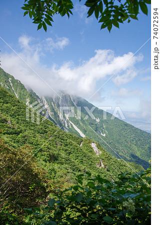 大山登山、ユートピアコースの景色(2020年8月) 74072594