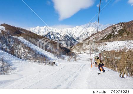スキー場 74073023