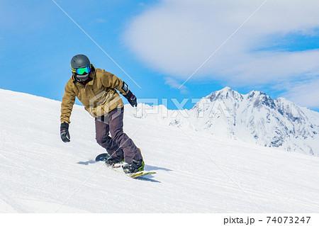 スノーボーダー 74073247