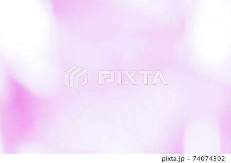 玉ボケピンクグラデーション 背景素材 74074302