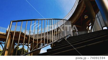 十文字山公園で空や夜空をみる展望台 74091594