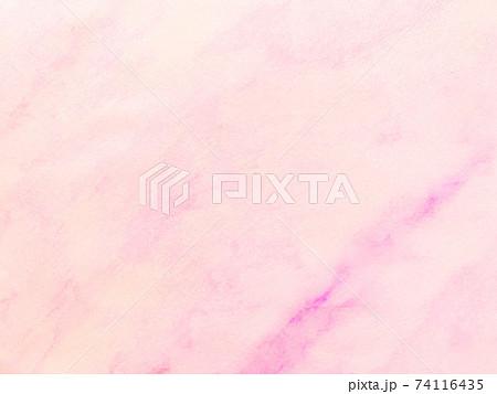 ピンク色水彩風テクスチャ・背景素材 74116435