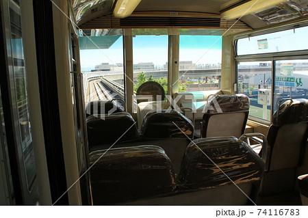 神戸の新交通六甲ライナーの運転席 74116783