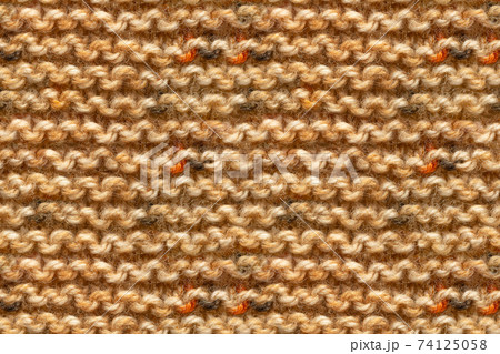 Brown Yellow Beige Color Knitwear Fabric Texture 74125058