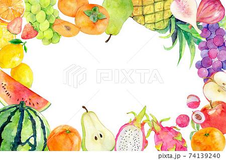 水彩イラスト 果物 フルーツ 74139240