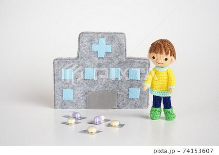 あみぐるみ人形 医療と生活 74153607