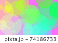 Colorful circle background 74186733