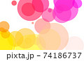 Colorful circle background 74186737