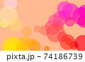 Colorful circle background 74186739
