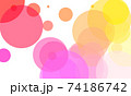 Colorful circle background 74186742