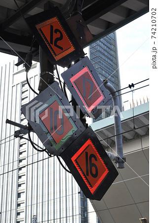 JR東日本東京駅新幹線ホームの列車停止位置目標 74210702