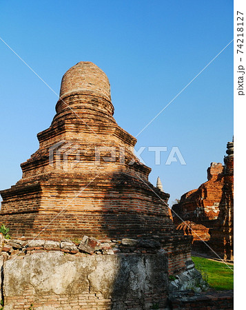 ワット・マハタート、アユタヤ王朝初期の頃の遺跡 74218127