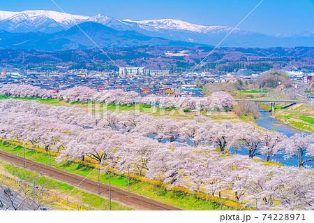 東北の桜の名所 一目千本桜 【宮城県】 74228971