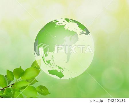 新緑(エコロジーイメージ) 74240181